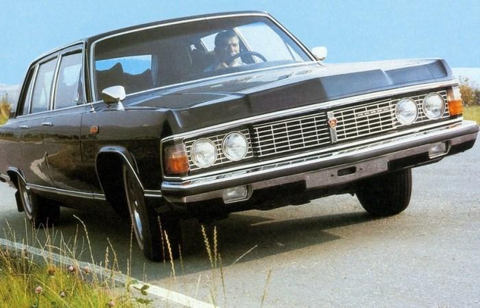 Советские авто на восьми цилиндрах.