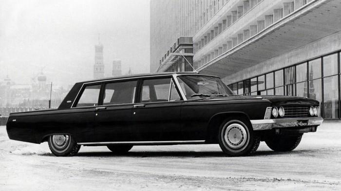 Представительские авто делались на славу.