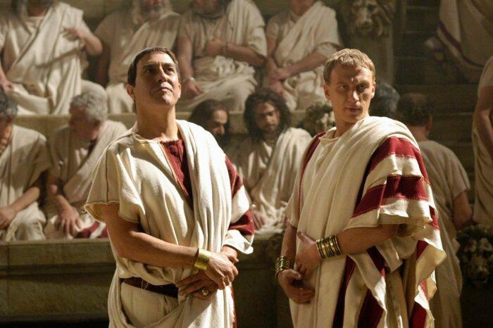 Бриться начисто римляне будут почти всю оставшуюся историю. /Фото: ru.kinorium.com.
