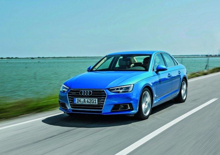 Эксперты похвалили Audi A4. |Фото: yandex.com.