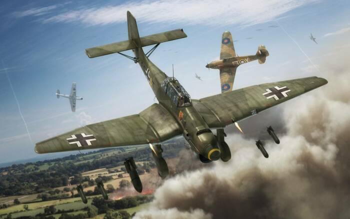 Самолет очень быстро стал одним из символом нацистской агрессии. /Фото: gunsfriend.ru.