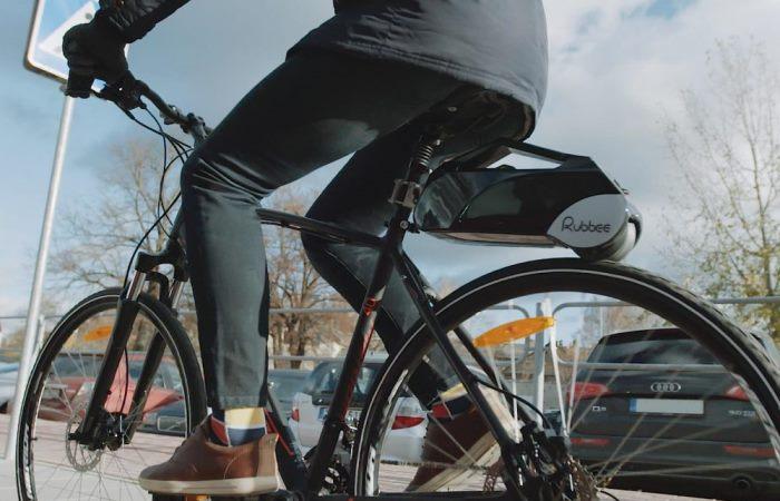 Для самых ленивых велосипедистов.