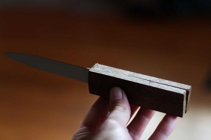 Остается обработать ручку. /Фото: instructables.com.