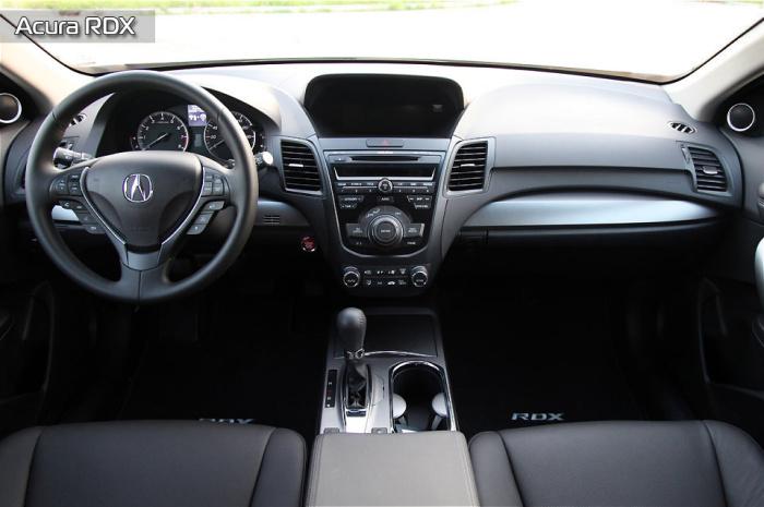 Салон Acura RDX очень удобен.