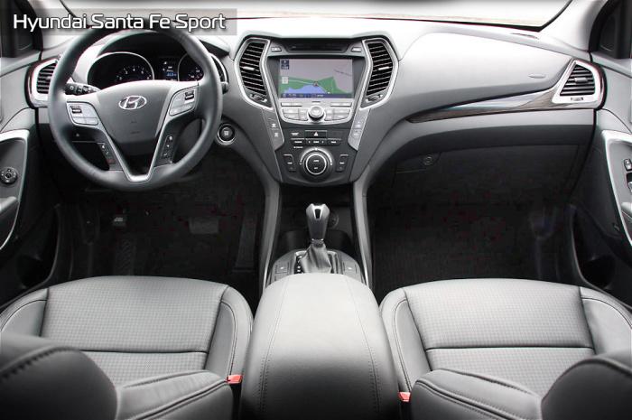 Hyundai Santa Fe радует и глаз и руку.