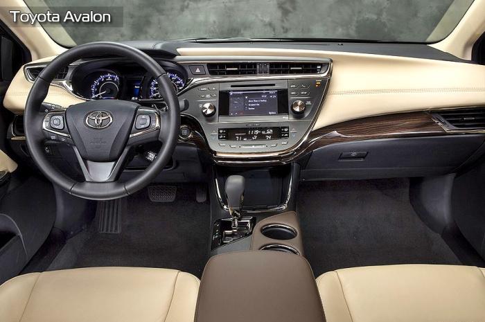 Toyota Avalon заслужил свое внимание.