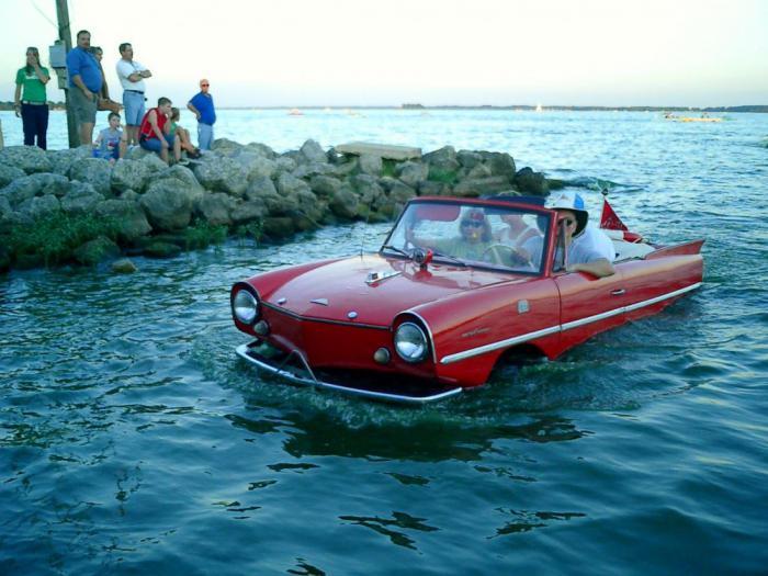 Когда-то Amphicar могли стать очень популярны.