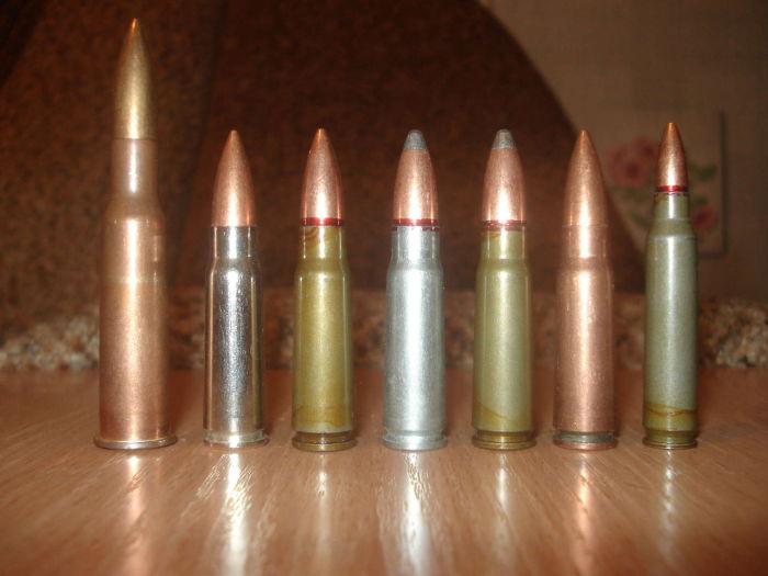 Патроны бывают разные внутри одного калибра. /Фото: allzip.org.