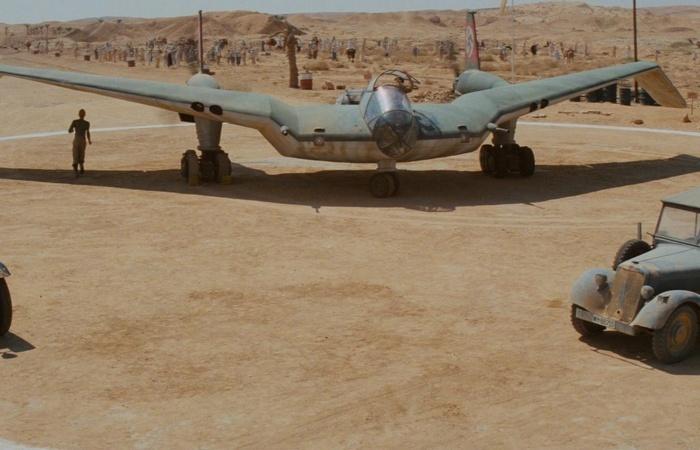 Что за странный немецкий самолет был использован в фильме «Индиана Джонс»