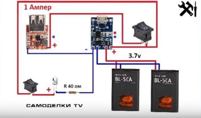 Вот, как выглядит все на схеме. /Фото: youtube.com.