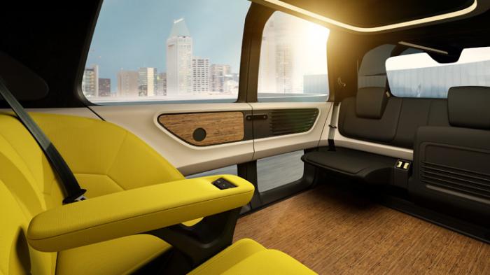 Максимум пространства для пассажиров.