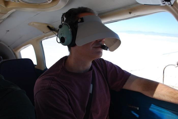 Вариация шторки для гражданских пилотов мелкомоторной авиации. /Фото: pinterest.ru.
