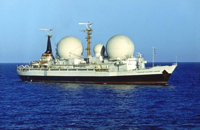 Один такой корабль был в СССР.