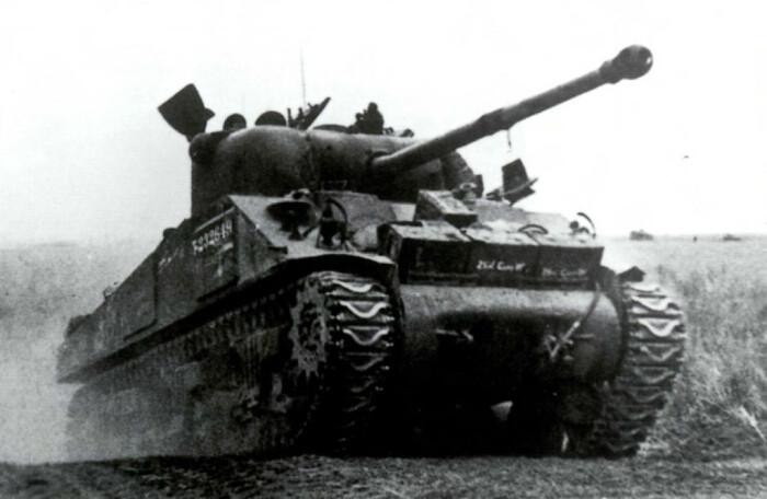 Танк американский - пушка британская. /Фото: m.ok.ru.
