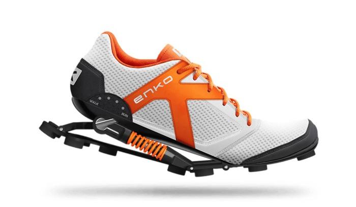 Кроссовки-автомобиль Enko и другие невероятные модели спортивной обуви.