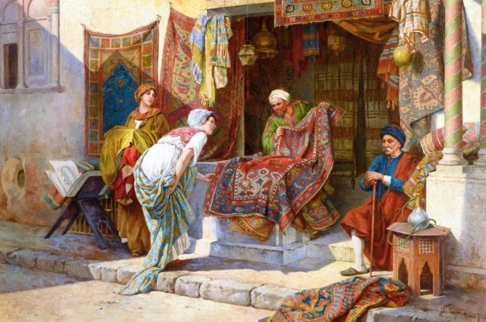 Скорее всего карты завезли из Китая арабские купцы. /Фото: yandex.com.