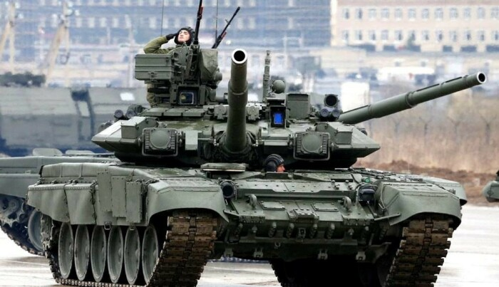Главный танк России. /Фото: ok.ru.