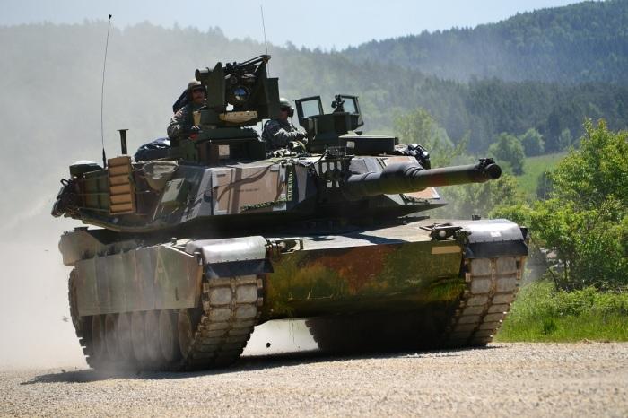 Главный танк США не такой уж дорогой. /Фото: besthqwallpapers.com.