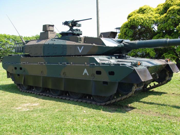 Армии у Японии нет, а вот танки есть. /Фото: pics.alphacoders.com.