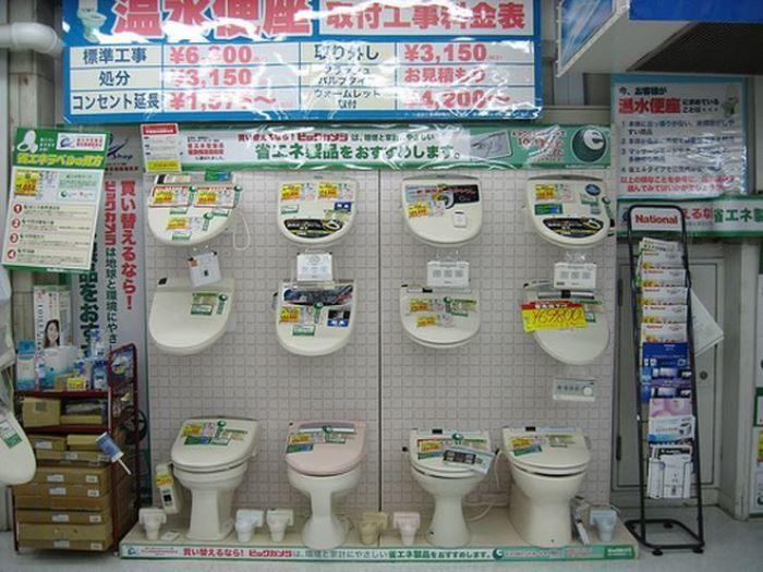 В Японии туалеты - это целый культ.