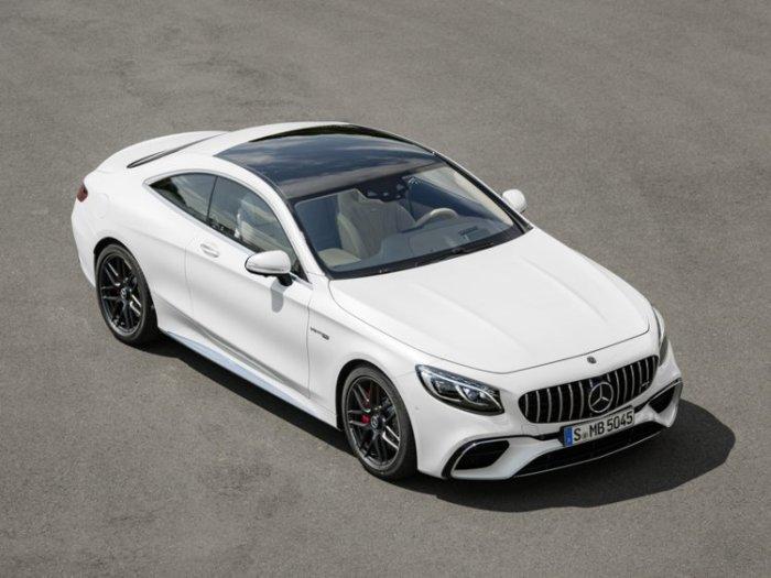 Много интересных решений в Mercedes-Benz S-Class.