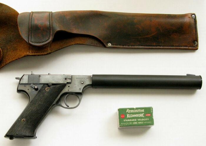 Первоначально пистолет делали для Морской пехоты. /Фото: udachnyj-enot.com.ua.