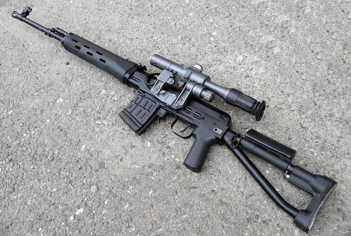 Самая массовая винтовка.
