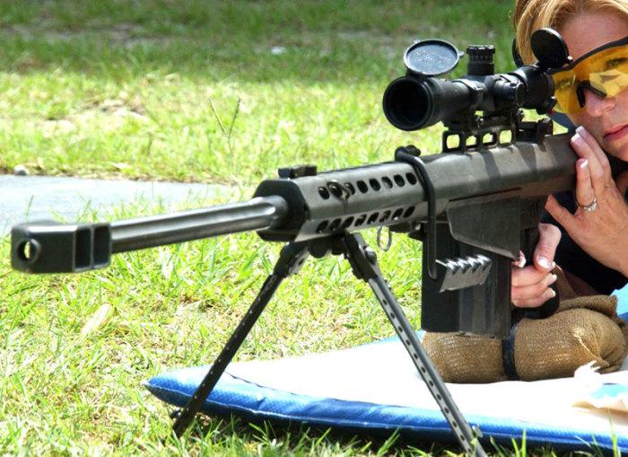 Вся мощь снайперского оружия.