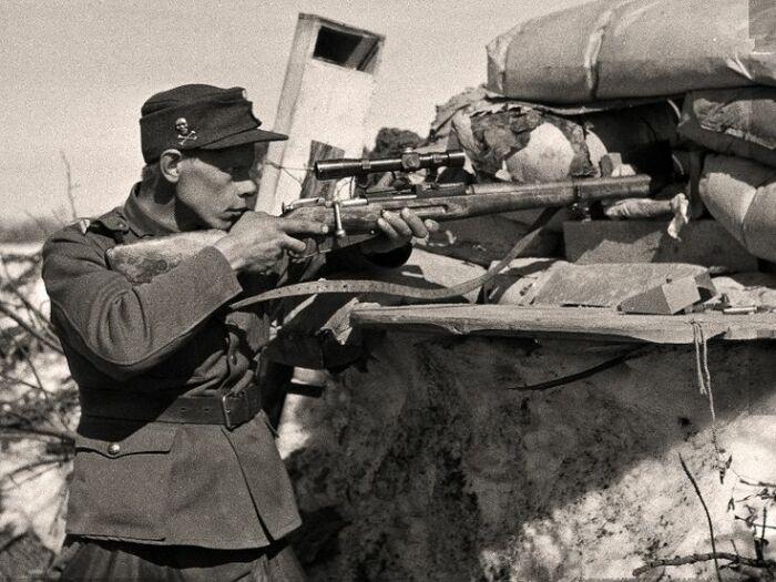 Почему самый результативный снайпер вермахта пользовался советской винтовкой Мосина