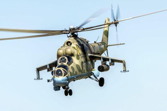Проверенный годами вертолет. /Фото: Pinterest.