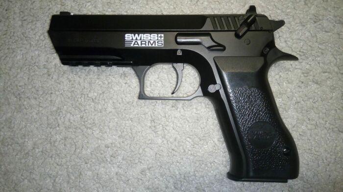 Интересный пистолет. /Фото: onlinetrade.ru.