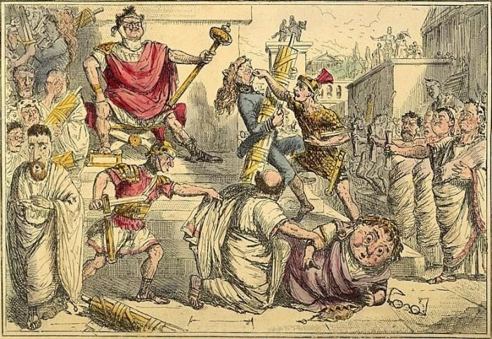 Последним римским царем стал Тарквиний Гордый. /Фото: oleg-alexandr.livejournal.com.