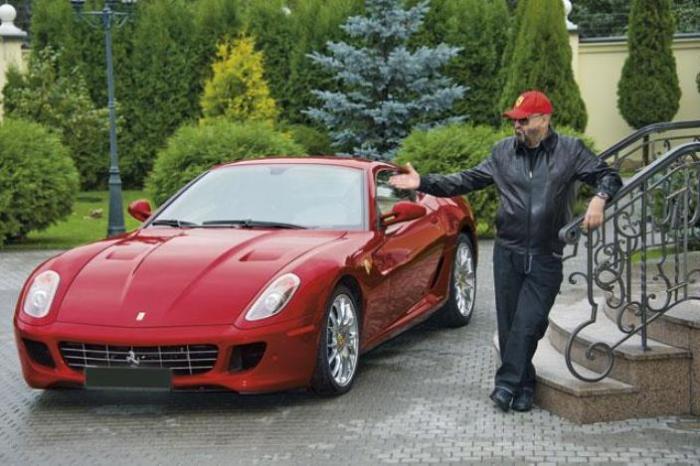 Шуфутинский и его роскошный Ferrari 599 GTB Fiorano.