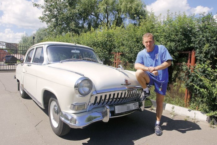 «Волга» ГАЗ-21 для Рыбина.