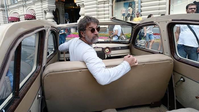 Леонид Ярмольник на своем любимом авто.