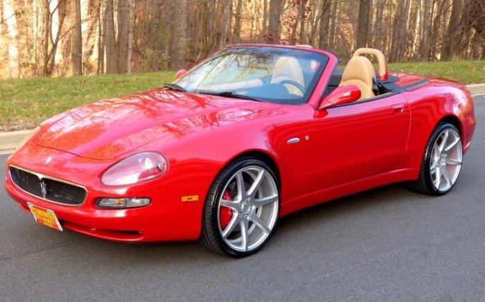 Maserati Spyder о котором в свое время так мечтала Лолита.