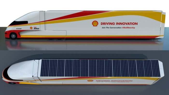 Солнечных панелей у Starship Class 8 много.