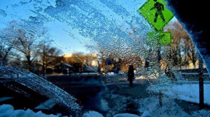 Зимой убрать испарения не сложно.