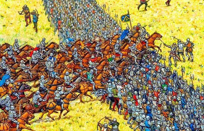 Страсти по «свинье»: действительно ли немецкие рыцари строились клином на Ледовом побоище