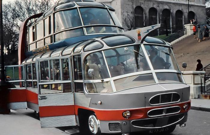 Странные автобусы.