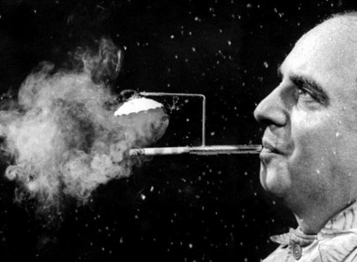 Теперь дождь не помеха никотиновой интоксикации!