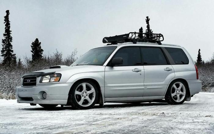 Subaru Wagon - удобная и надёжная машина.