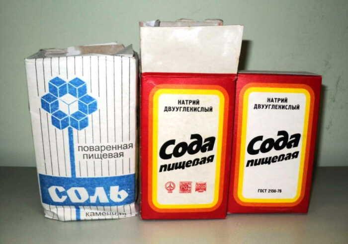 Вместо риса сойдут соль или сода. /Фото: cooku.ru.
