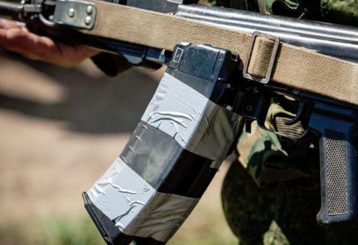Если изолента не синяя, то стрелять не будет. /Фото: yandex.ru.