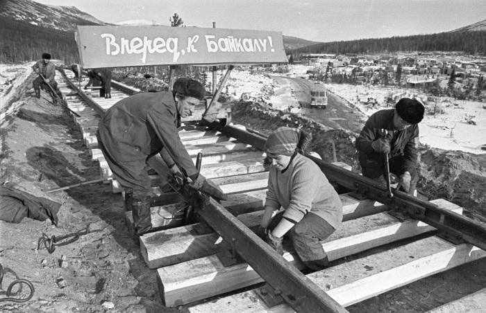 В СССР сделали свою колею. /Фото: bezformata.com.
