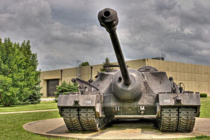 Американский тяжелый Т-28 Turtle.