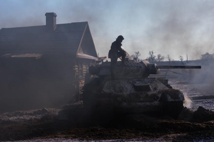 Стреляют всегда с места. /Фото: tvmag.ru.