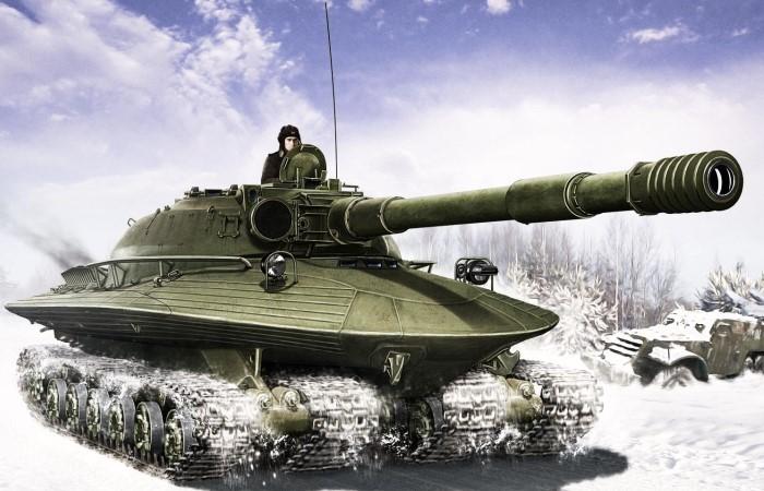 Невероятные танки.