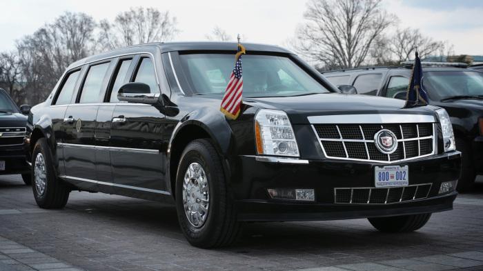 Автомобиль президента США. /Фото: 360tv.ru.