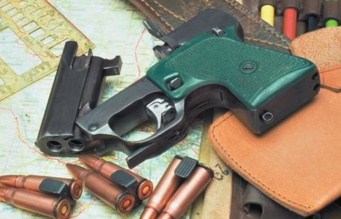 Пистолет для разведки. /Фото: imgur.com.